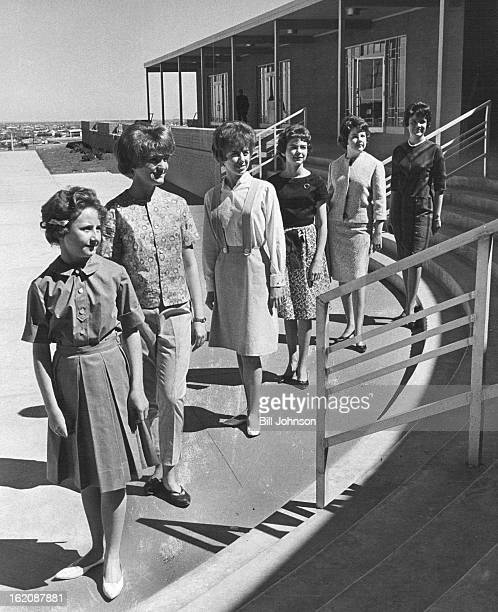 MAY 8 1963 Thomas Jefferson Style Show One hundred and sixty Thomas Jefferson JuniorSenior High School pupils will model clothes they have made in...