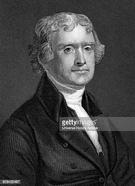 Thomas Jefferson Third President of the United States American Founding Father and Author of the Declaration of Independence Portrait