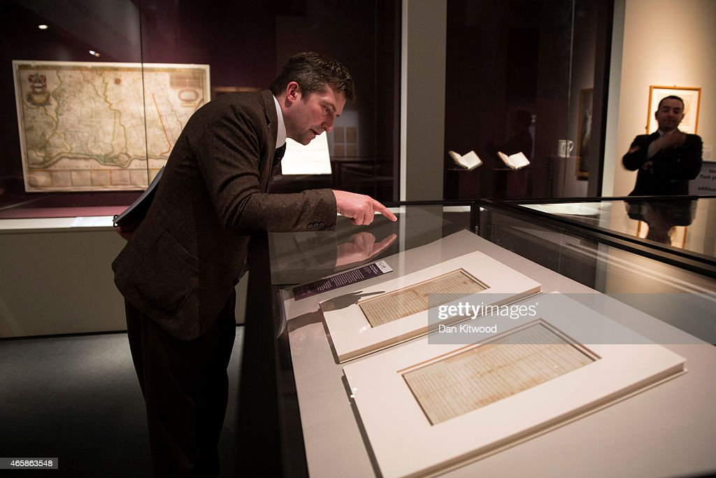 Magna Carta: Law, Liberty, Legacy Opens At The British Library : News Photo