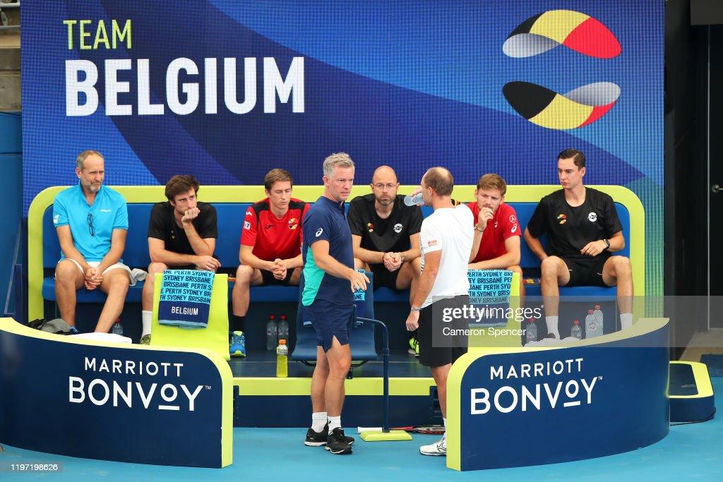 2020 ATP Cup - Sydney: Day 1 : News Photo