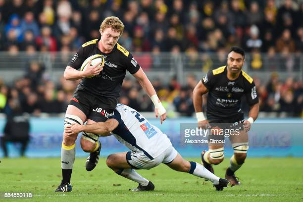Thomas Jolmes of La Rochelle during the Top 14 match between La Rochelle and Montpellier on December 2 2017 in La Rochelle France