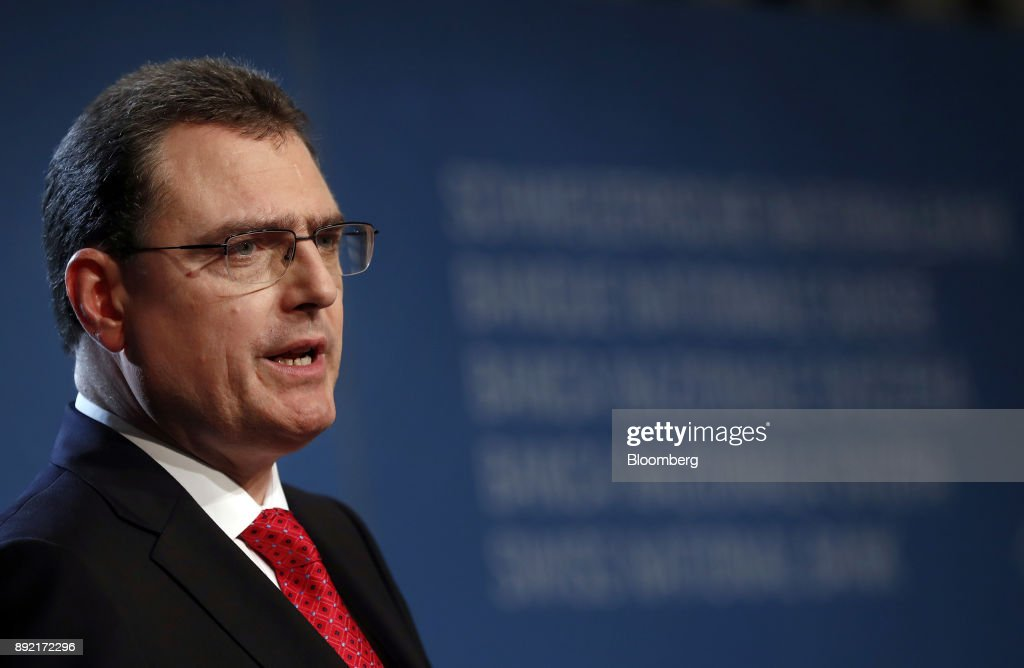Swiss National Bank President Thomas Jordan Speaks At Rates Announcement News Conference