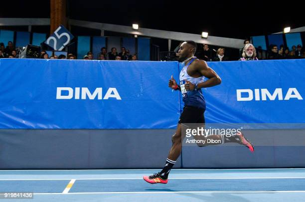 Thomas Jordier during the Athletics French Championship Indoor on February 17 2018 in Lievin France