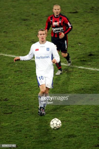 Thomas KAHLENBERG Auxerre / Nice 30e journee Ligue 1