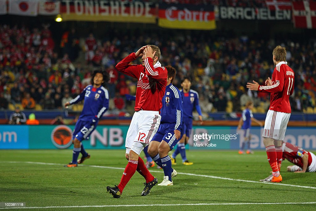 Denmark v Japan: Group E - 2010 FIFA World Cup