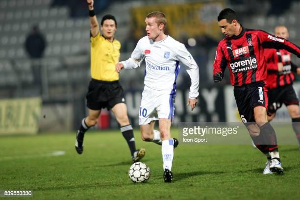 Thomas KAHLENBERG / Olivier ECHOUAFNI Auxerre / Nice 30e journee Ligue 1