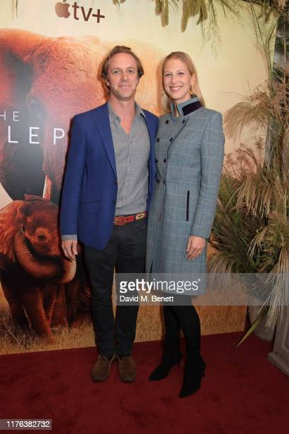 """Thomas Kingston and Lady Gabriella Windsor attend the London Premiere of Apple's acclaimed documentary """"The Elephant Queen"""" on October 17, 2019 in..."""