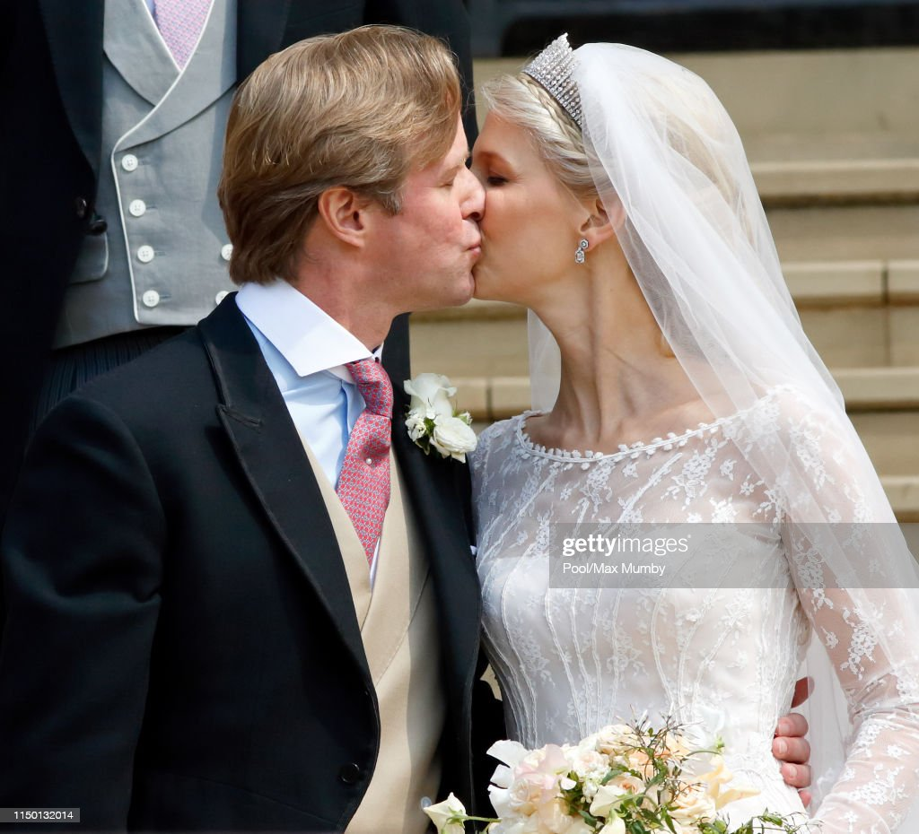 The Wedding Of Lady Gabriella Windsor And Mr Thomas Kingston : News Photo
