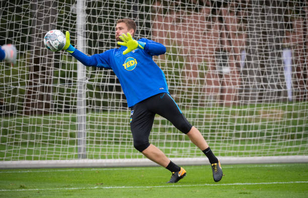 DEU: Hertha BSC training session