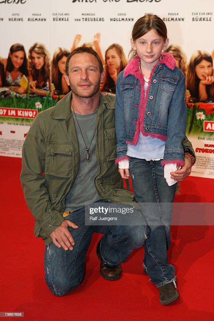 Thomas Kretschmann and his daughter Stella attend the