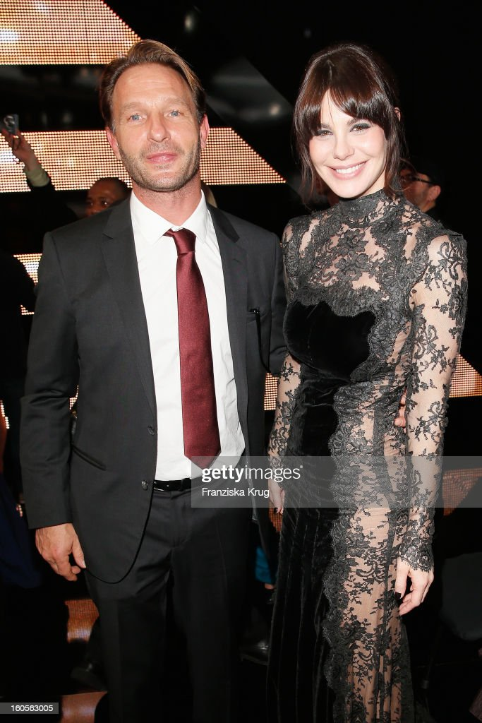Thomas Kretschmann and Lucila Sola attend 'Goldene Kamera 2013' at Axel Springer Haus on February 2, 2013 in Berlin, Germany.