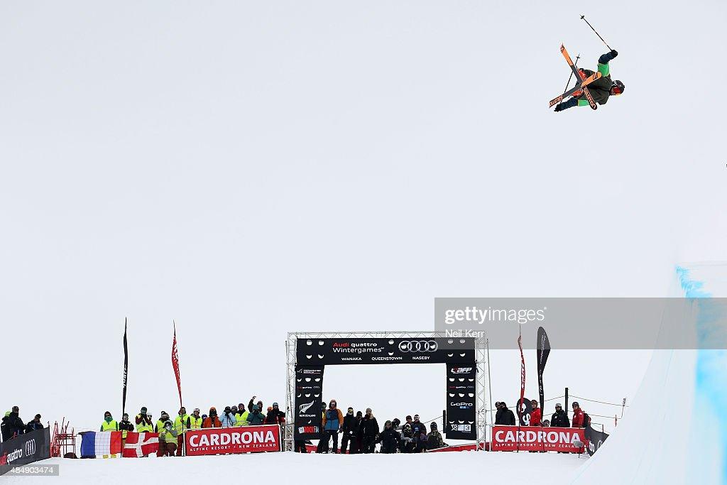 Winter Games NZ - FIS Freestyle Ski World Cup Halfpipe - Finals : News Photo
