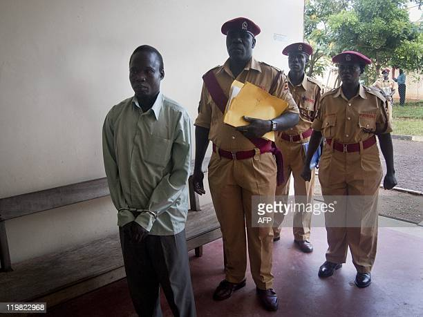 Thomas Kwoyelo a commander of the Lord's Resistance Army rebellion blamed for brutal civilian murders during a 20-year war in the north of the...