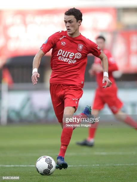 Thomas Lam of FC Twente during the Dutch Eredivisie match between Fc Twente v PEC Zwolle at the De Grolsch Veste on April 17, 2018 in Enschede...