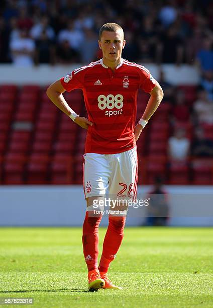 Thomas Lam of Nottingham Forest during the Sky Bet Championship match between Nottingham Forest and Burton Albion at City Ground on August 6, 2016 in...