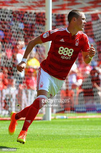 Thomas Lam of Nottingham Forest in action during the Sky Bet Championship match between Nottingham Forest and Burton Albion at City Ground on August...