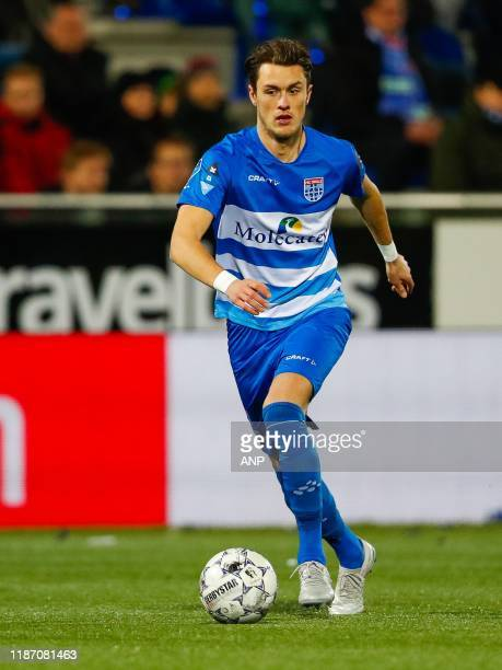 Thomas Lam of PEC Zwolle during the Dutch Eredivisie match between PEC Zwolle and AZ Alkmaar at the MAC3Park stadium on December 07, 2019 in Zwolle,...
