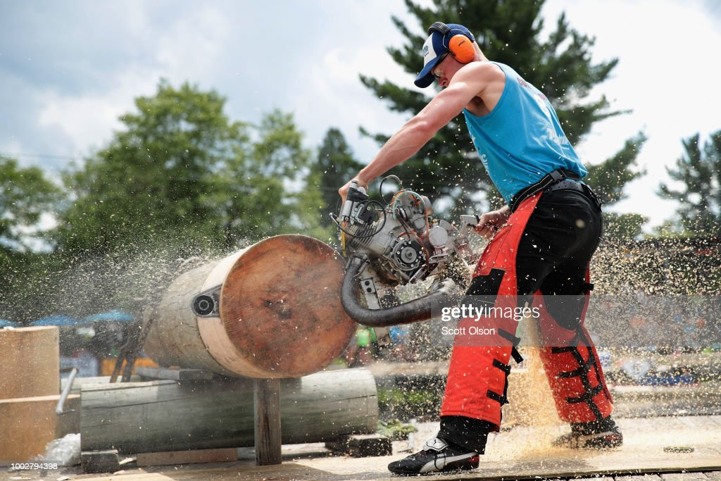 Thomas Lancaster of Seierville, Tennessee competes in the