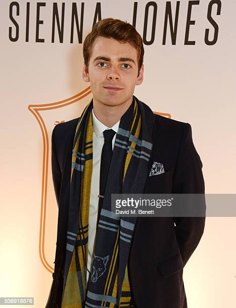 Thomas Law attends the launch of British fashion brand Sienna Jones' debut collection 'The Marina Range' at The Orangery, Kensington Palace, on June...