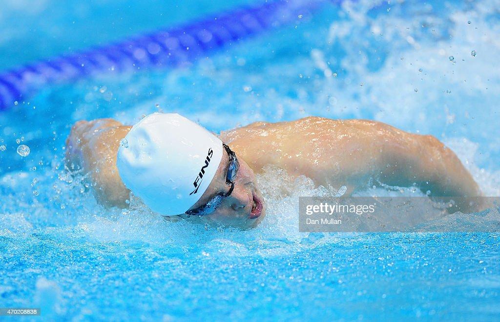 British Gas Swimming Championships 2015: Day Five : News Photo