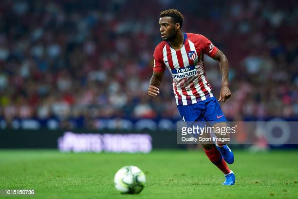 Thomas Lemar of Atletico de Madrid in action during the International Champions Cup match between Atletico de Madrid and FC Internazionale at Wanda...