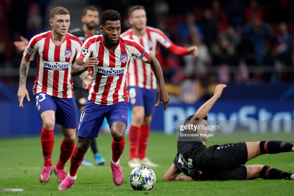 Atletico Madrid v Bayer Leverkusen - UEFA Champions League : News Photo