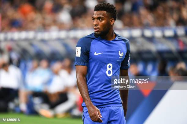 Thomas Lemar of France during the Fifa 2018 World Cup qualifying match between France and Netherlands at Stade France on August 31, 2017 in Paris,...