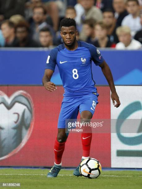 Thomas Lemar of France during the FIFA World Cup 2018 qualifying match between France and Netherlands on August 31 2017 at Stade de France in Saint...