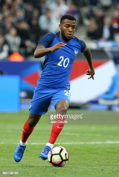 Thomas Lemar of France during the international friendly match between France and Spain between France and Spain at Stade de France on March 28 2017...