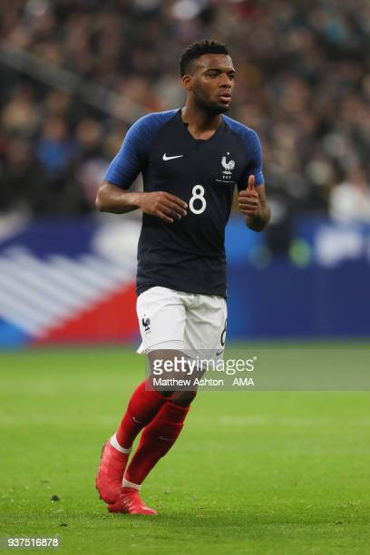Thomas Lemar of France during the International Friendly match between France and Colombia at Stade de France on March 23 2018 in Paris France