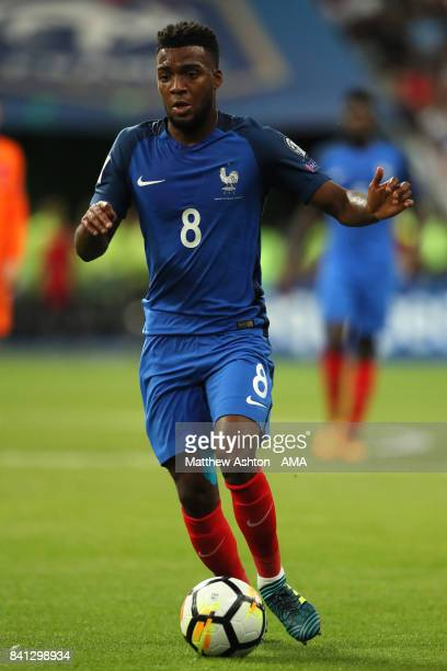 Thomas Lemar of France in action during the FIFA 2018 World Cup Qualifier match between France and The Netherlands at Stade de France on August 31...