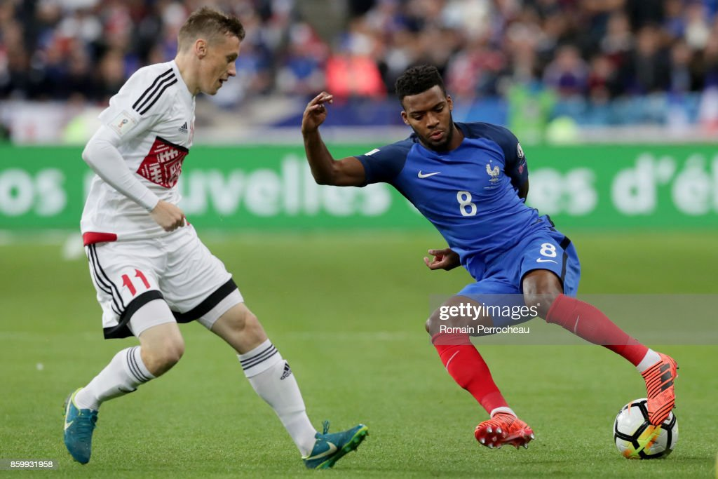 France v Belarus - FIFA 2018 World Cup Qualifier : News Photo