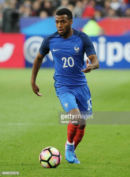 Thomas Lemar of France in action during the Friendly game between France and Spain at Stade de France on march 28 2017 in Paris France