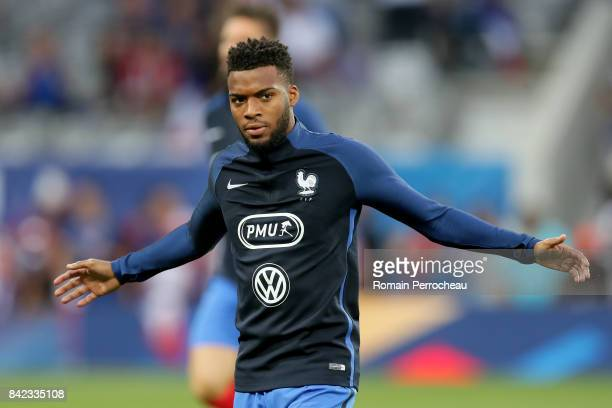 Thomas Lemar of France looks on beofre the FIFA 2018 World Cup Qualifier between France and Luxembourg at Stadium on September 3 2017 in Toulouse...