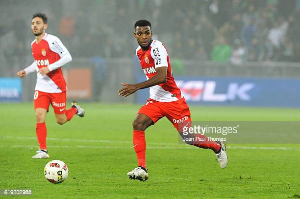 Thomas LEMAR of Monaco during the French Ligue 1 between Saint Etienne and Monaco at Stade GeoffroyGuichard on October 29 2016 in SaintEtienne France