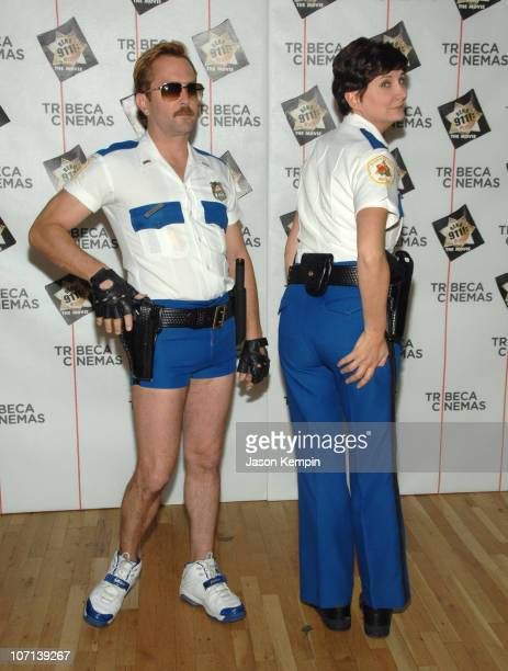 "Thomas Lennon and Kerri Kenney-Silver during The Tribeca Cinema Series Hosts a Special Screening of ""Reno 911!: Miami"" - February 21, 2007 at Tribeca..."