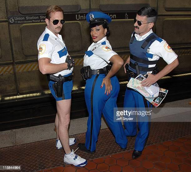 Thomas Lennon Niecy Nash and Ben Garant of 'Reno 911'
