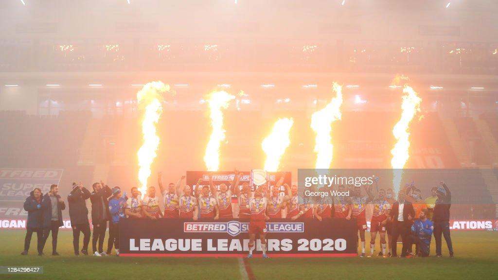 Wigan Warriors v Huddersfield Giants - Betfred Super League : News Photo