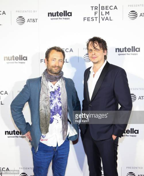 Thomas Lien and Mikal Hovland attend the screening for ÒThe NavigatorÒ at the Tribeca Shorts Disconnected during the 2017 Tribeca Film Festival at...