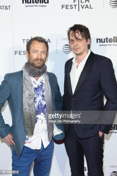 Thomas Lien and Mikal Hovland of 'The Navigator attend the Shorts Program Disconnected during the 2017 Tribeca Film Festival at Regal Battery Park...