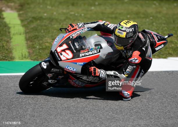 Thomas Luthi during the free pratice of Gran Premio d'Italia Oakley 2019 Moto 2 at Mugello Circuit, on June 01, 2019 .