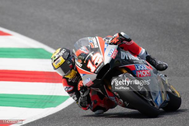 Thomas Luthi Dynavolt Intact GP MOTO2 in Day 2 at the Mugello International Cuircuit for the sixth round of MotoGP World Championship Gran Premio...