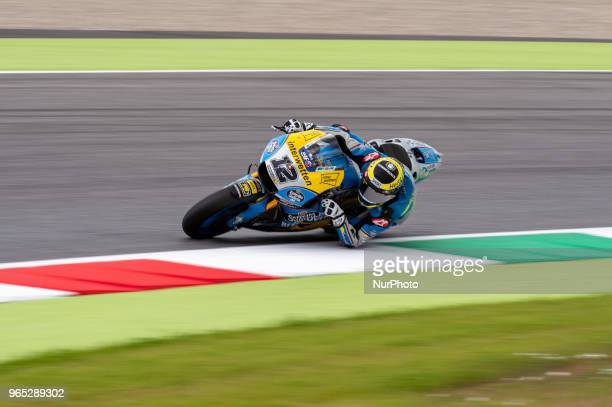 Thomas Luthi of EG 00 Marc VDS during the 2018 MotoGP Italian Grand Prix Free Practice at Circuito del Mugello Scarperia Italy on 1 June 2018
