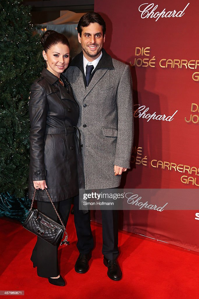 Thomas Mack and Katja Mack attends the 19th Annual Jose Carreras Gala at Europapark on December 19, 2013 in Rust, Germany.