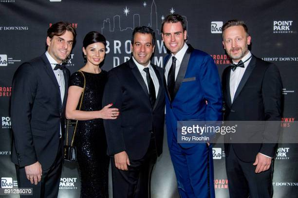 Thomas Mack Katja Mack Craig Laurie Ryan Stana and Mathias Reichle attend the10th Annual Broadway Dreams Supper at The Plaza Hotel on December 12...