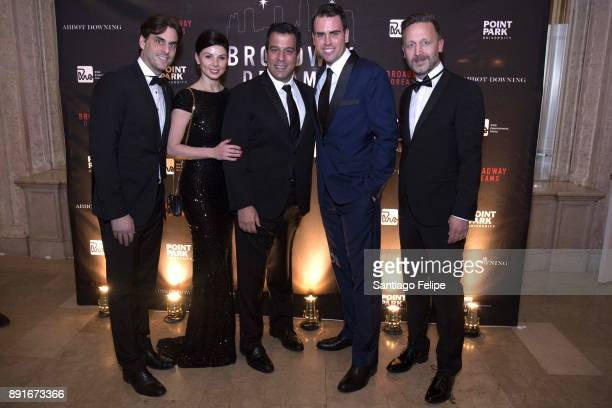 Thomas Mack Katja Mack Craig Laurie Ryan Stana and Mathias Relchle attend the 10th Annual Broadway Dreams Supper at The Plaza Hotel on December 12...
