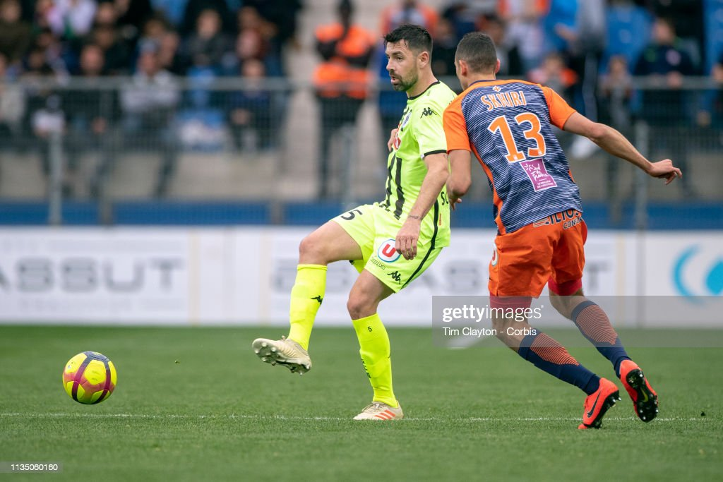 Montpellier Vs Angers : News Photo