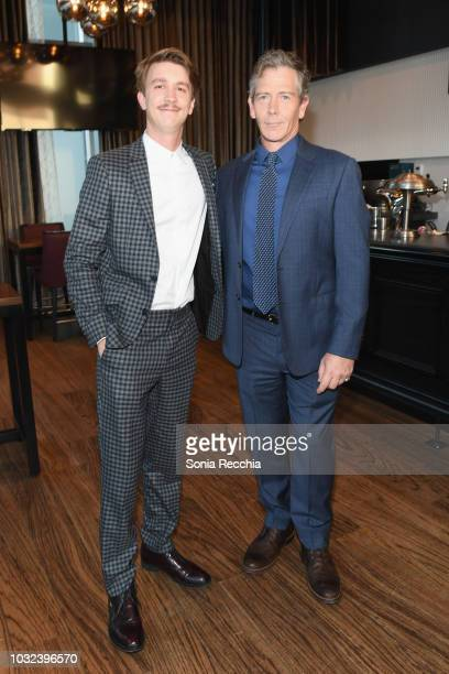 Thomas Mann and Ben Mendelsohn attend the The Land of Steady Habits red carpet premiere during 2018 Toronto International Film Festival on September...