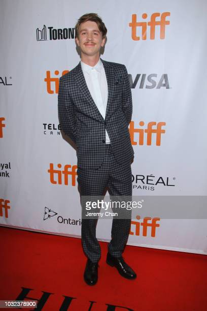 """Thomas Mann attends the """"The Land Of Steady Habits"""" premiere during 2018 Toronto International Film Festival at Roy Thomson Hall on September 12,..."""