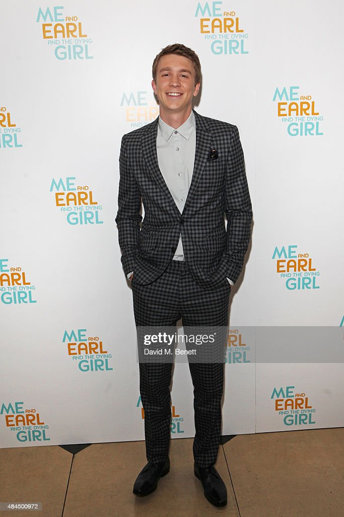 Thomas Mann attends the UK Premiere of 'Me And Earl And The Dying Girl' during Film4 Summer Screenings at Somerset House on August 19, 2015 in London, England.